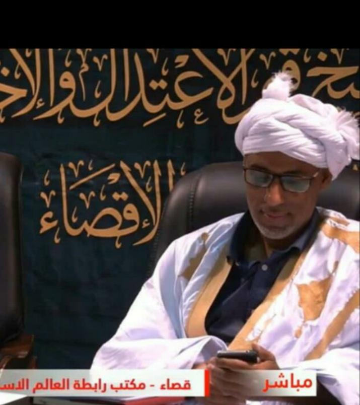 الدكتور الفقيه: الشيخ واد الزين ولد الامام/  أستاذ أصول الفقه ومقاصد الشريعة