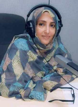 """رئيسة منظمة """"نور القمر"""" للتعبئة الإجتماعية: النوها بنت محمد صالح"""